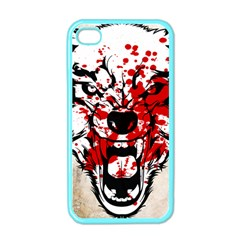 Blood Wolf Apple iPhone 4 Case (Color)