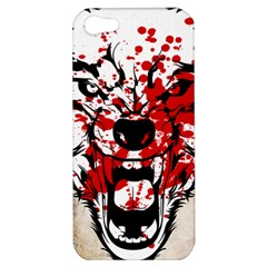 Blood Wolf Apple iPhone 5 Hardshell Case