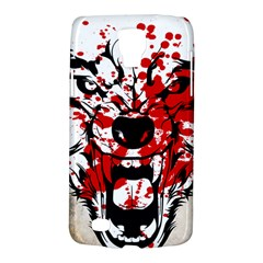 Blood Wolf Samsung Galaxy S4 Active (I9295) Hardshell Case