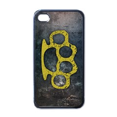 Brass Knuckles Apple iPhone 4 Case (Black)