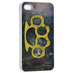 Brass Knuckles Apple iPhone 4/4s Seamless Case (White)