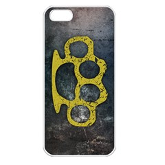 Brass Knuckles Apple iPhone 5 Seamless Case (White)