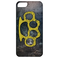 Brass Knuckles Apple Iphone 5 Classic Hardshell Case
