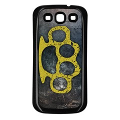 Brass Knuckles Samsung Galaxy S3 Back Case (Black)