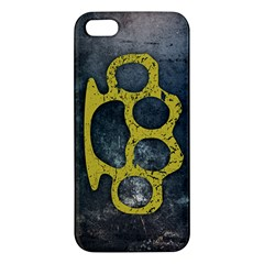 Brass Knuckles iPhone 5S Premium Hardshell Case
