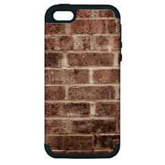 Brick Apple Iphone 5 Hardshell Case (pc+silicone)