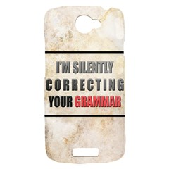 Silently correcting your grammar HTC One S Hardshell Case