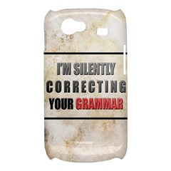 Silently correcting your grammar Samsung Galaxy Nexus S i9020 Hardshell Case