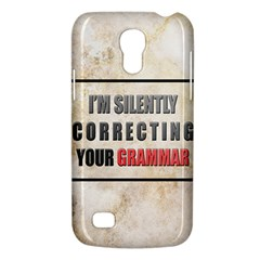 Silently correcting your grammar Samsung Galaxy S4 Mini Hardshell Case