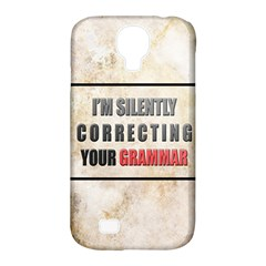 Silently Correcting Your Grammar Samsung Galaxy S4 Classic Hardshell Case (pc+silicone)