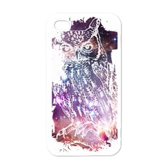 Cosmic Owl Apple iPhone 4 Case (White)