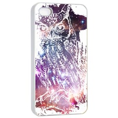 Cosmic Owl Apple iPhone 4/4s Seamless Case (White)