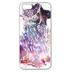Cosmic Owl Apple Seamless iPhone 5 Case (Clear) Front