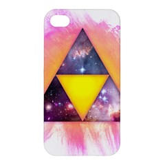 Cosmic Triple Triangles Apple Iphone 4/4s Premium Hardshell Case