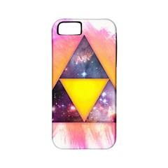Cosmic Triple Triangles Apple Iphone 5 Classic Hardshell Case (pc+silicone)