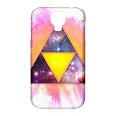 Cosmic Triple Triangles Samsung Galaxy S4 Classic Hardshell Case (pc+silicone)