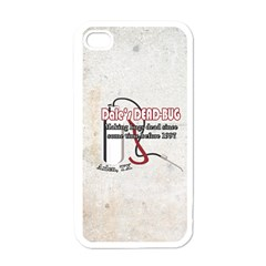 Dale s DEAD-BUG Apple iPhone 4 Case (White)