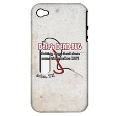 Dale s DEAD-BUG Apple iPhone 4/4S Hardshell Case (PC+Silicone)