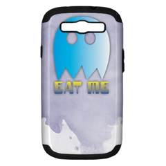 Eat Me Samsung Galaxy S Iii Hardshell Case (pc+silicone)