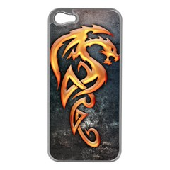 Golden Dragon Apple Iphone 5 Case (silver)