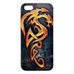 Golden Dragon iPhone 5 Premium Hardshell Case