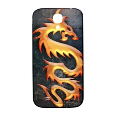 Golden Tribal Dragon Samsung Galaxy S4 I9500/I9505  Hardshell Back Case