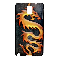 Golden Tribal Dragon Samsung Galaxy Note 3 N9005 Hardshell Case