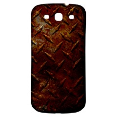 Basic Metal Design Samsung Galaxy S3 S III Classic Hardshell Back Case