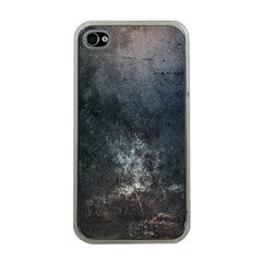 Grunge Metal Texture Apple Iphone 4 Case (clear)