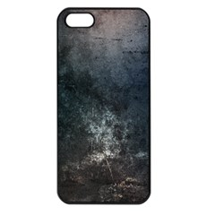 Grunge Metal Texture Apple iPhone 5 Seamless Case (Black)