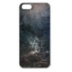 Grunge Metal Texture Apple Seamless iPhone 5 Case (Clear)