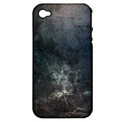 Grunge Metal Texture Apple iPhone 4/4S Hardshell Case (PC+Silicone)