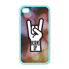Horns Up Apple iPhone 4 Case (Color)