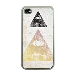 All seeing eye Apple iPhone 4 Case (Clear)