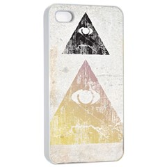 All Seeing Eye Apple Iphone 4/4s Seamless Case (white)