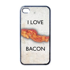 I Love Bacon Apple Iphone 4 Case (black)