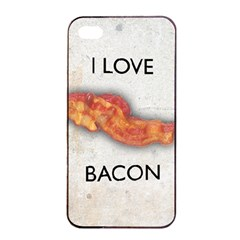 I love bacon Apple iPhone 4/4s Seamless Case (Black)