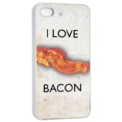 I Love Bacon Apple Iphone 4/4s Seamless Case (white)