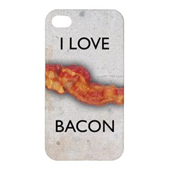 I love bacon Apple iPhone 4/4S Premium Hardshell Case