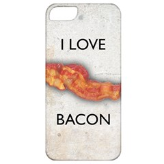 I love bacon Apple iPhone 5 Classic Hardshell Case