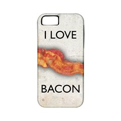 I Love Bacon Apple Iphone 5 Classic Hardshell Case (pc+silicone)