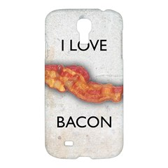 I Love Bacon Samsung Galaxy S4 I9500/i9505 Hardshell Case
