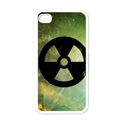 Radioactive Apple iPhone 4 Case (White)