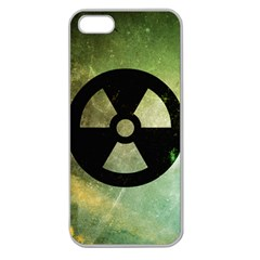 Radioactive Apple Seamless iPhone 5 Case (Clear)