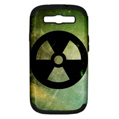 Radioactive Samsung Galaxy S III Hardshell Case (PC+Silicone)