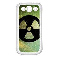 Radioactive Samsung Galaxy S3 Back Case (White)