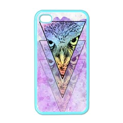 Owl Art Apple Iphone 4 Case (color)
