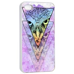 Owl Art Apple iPhone 4/4s Seamless Case (White)
