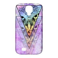 Owl Art Samsung Galaxy S4 Classic Hardshell Case (PC+Silicone)