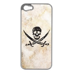Pirate Apple iPhone 5 Case (Silver)